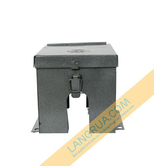 Hộp bảo vệ đồng hồ nước sạch HTR 04 loại 2 nắp Có khóa lẫy
