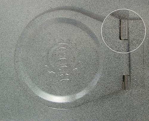 Khóa bản lề hộp bảo vệ đồng hồ nước