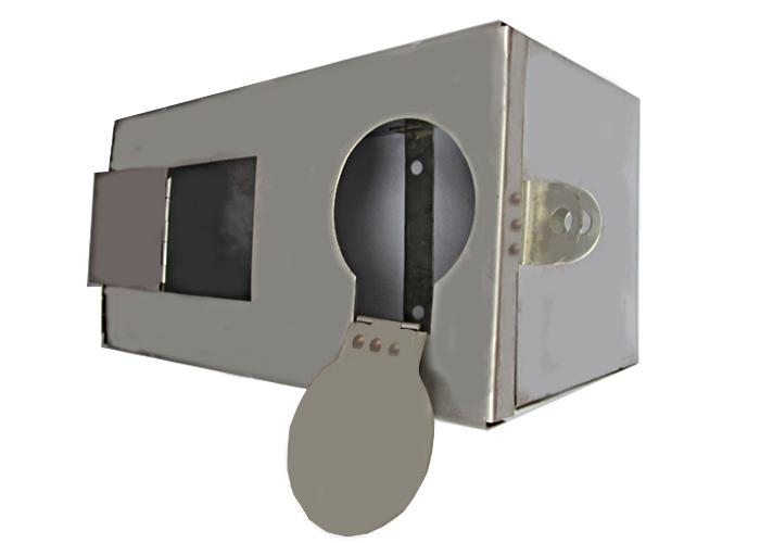 hộp đồng hồ nước inox
