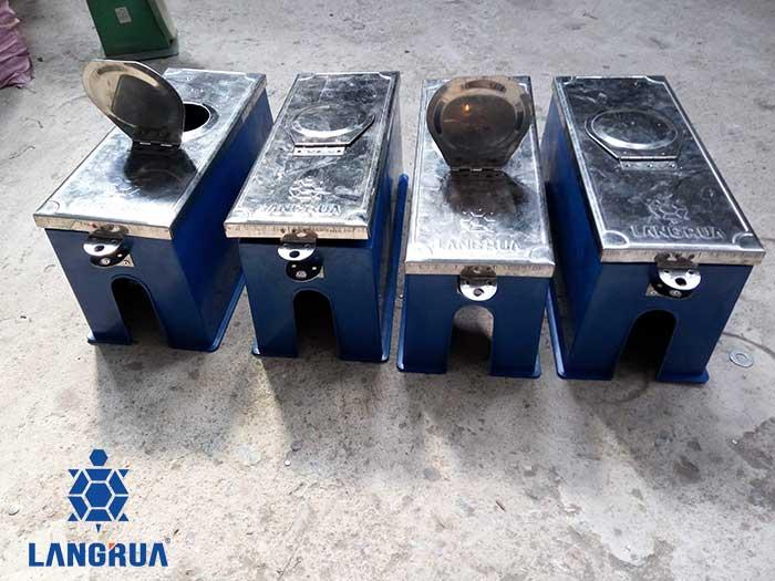 hộp bảo vệ đồng hồ nước nhựa nắp kim loại