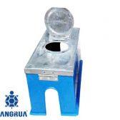 Hộp bảo vệ đồng hồ nước nhựa nắp inox