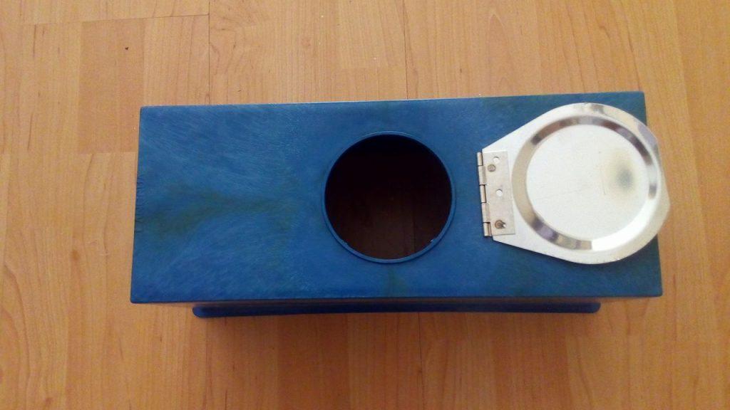 Hộp bảo vệ đồng hồ nước nhựa nắp kim loại 1 nắp