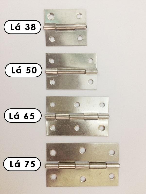 bản lề inox 38, 50, 65, 75, 90